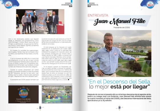 Revista Conmemorativa de la 83 edición del Descenso Internacional del Sella