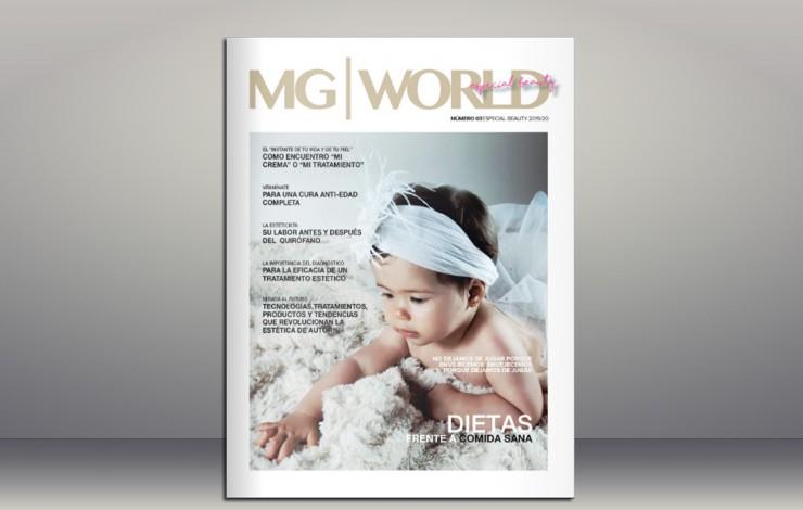 Revista MG/ Word Especial Belleza
