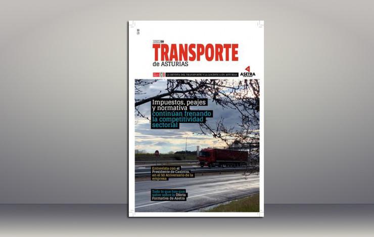 Nuevo número de la revista TRANSPORTE DE ASTURIAS